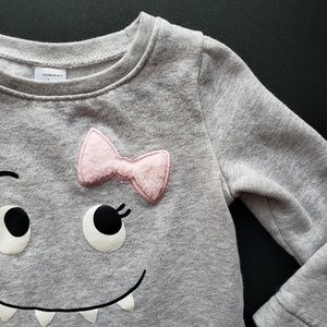 Monster Face Pullover Sweater